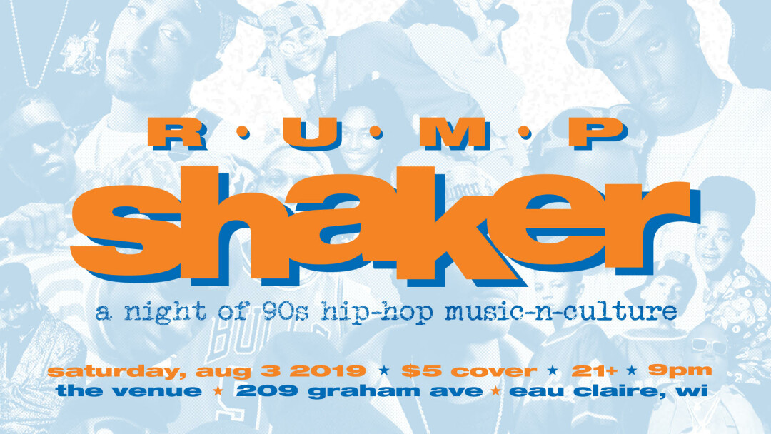 Rump Shaker: A Night of 90s Hip-Hop Music N Culture - The
