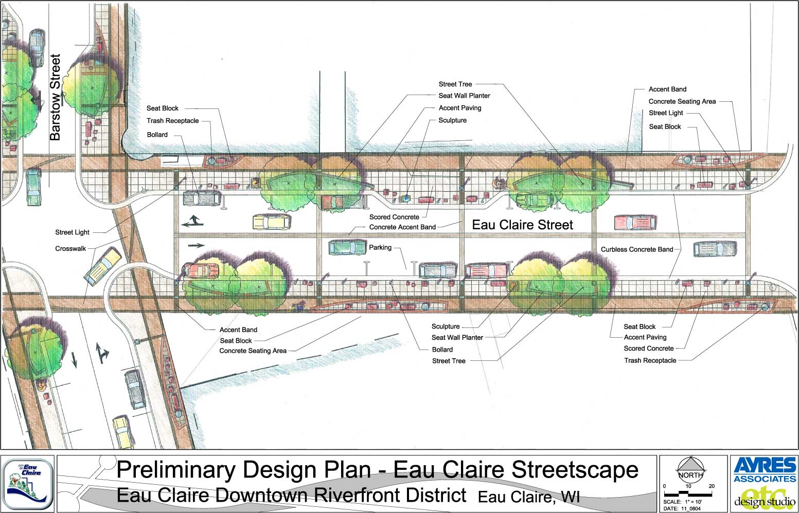 New Downtown Eau Claire Redesign Plans Look Great