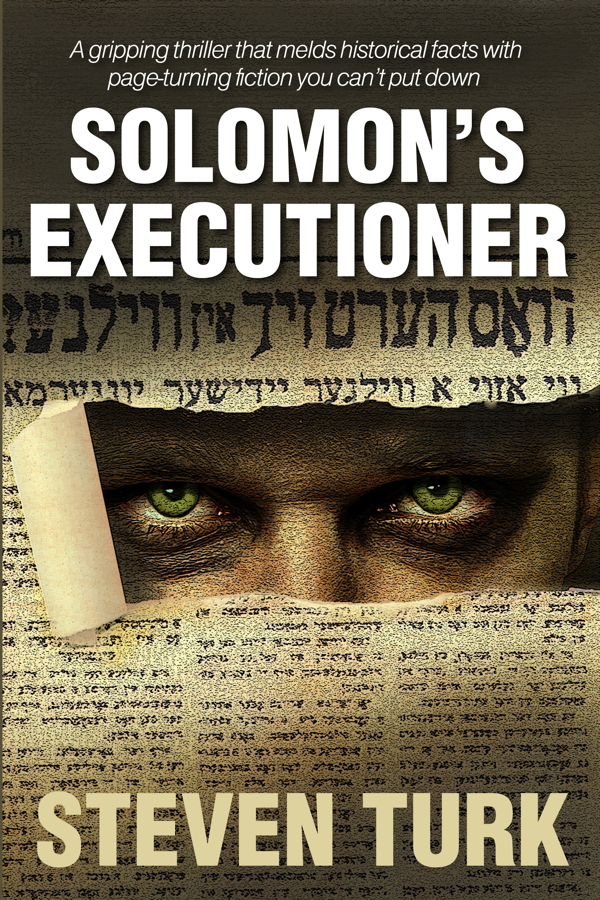 TAKE A PEEK. Eau Claire native Steven Turk's first published novel, Solomon's Executioner, is a thriller about a serial killer hunting Nazi war criminals.
