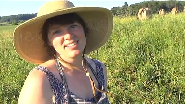 Inga Witscher, organic farmer and future TV host?