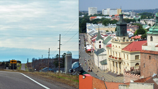 Lublin, Wisconsin and Lublin, Poland: peas in a pod.