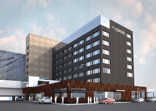 The lismore hotel details emerge on 16m project for Rsp architects