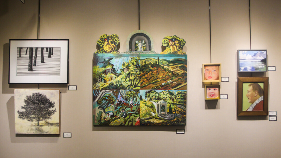 Make sure you check out the spectacular ArtsWest 36, now hanging in the L.E. Phillips Memorial Public Library.