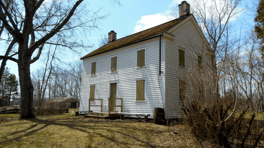 The the Wakely Home of Nekoosa, Wisconsin: Still standing.
