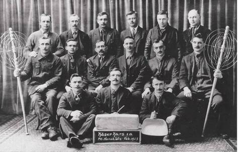 A graduating class of 19th century Wisconsin cheesemakers. At this point, I'm convinced