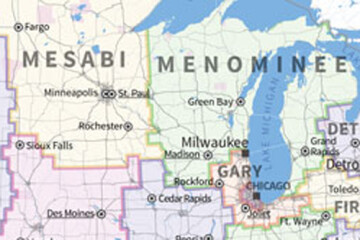 Goodbye La Crosse and Racine. Hello Michigan.
