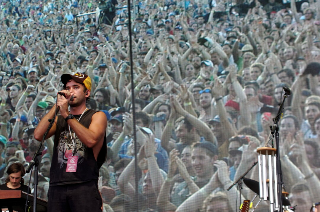 A rare festival appearance from Sufjan Stevens on Saturday evening (July 18).