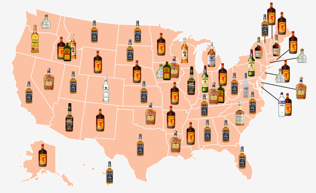 The United States of Whiskey. Image: Business Insider