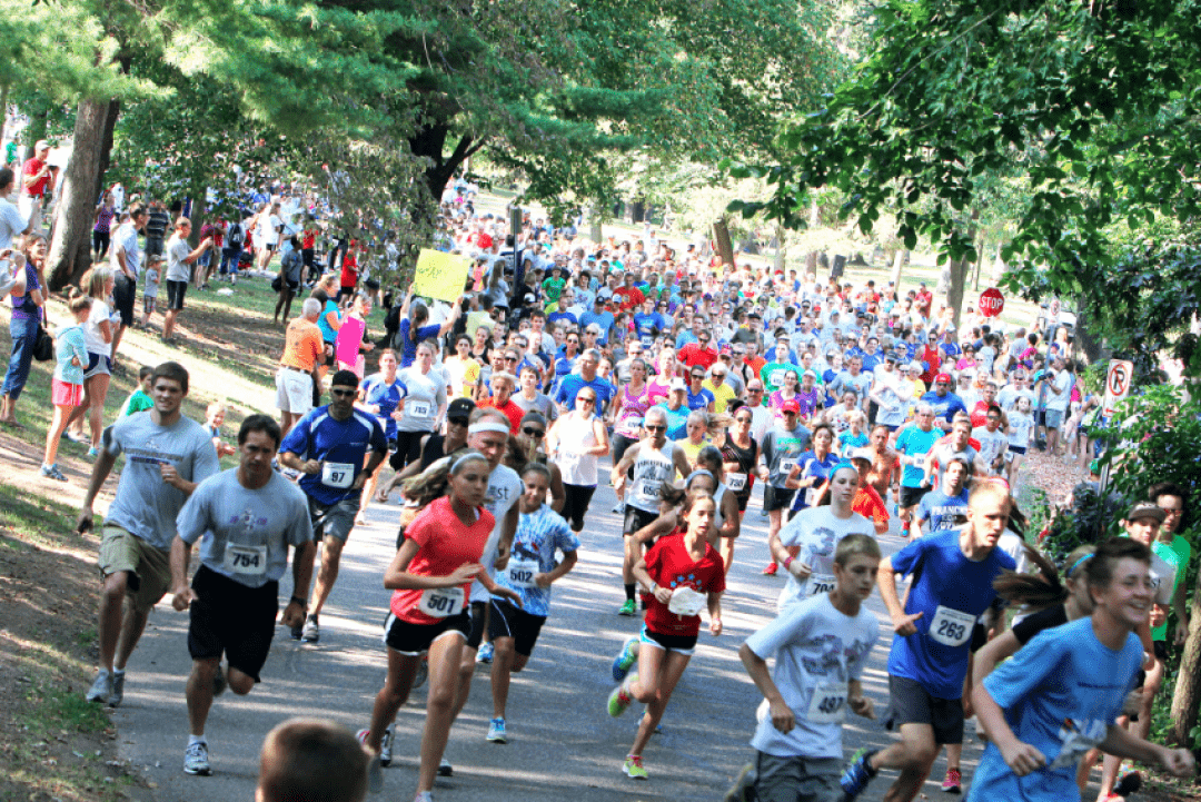 A SHOT AT GLORY. The Buckshot Run, held each Labor Day weekend in Carson Park, is one of scores of special events that require city approval every year.