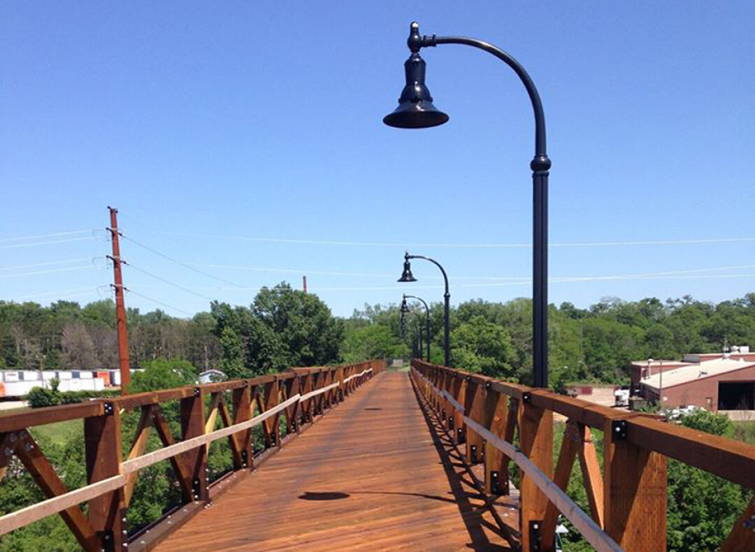 The High Bridge (Image: City of Eau Claire)