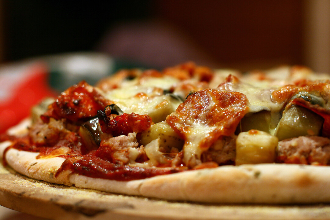 Though delicious to the eyes, this is not a picture of pizza from the yet-to-be-built&nbsp;<br>