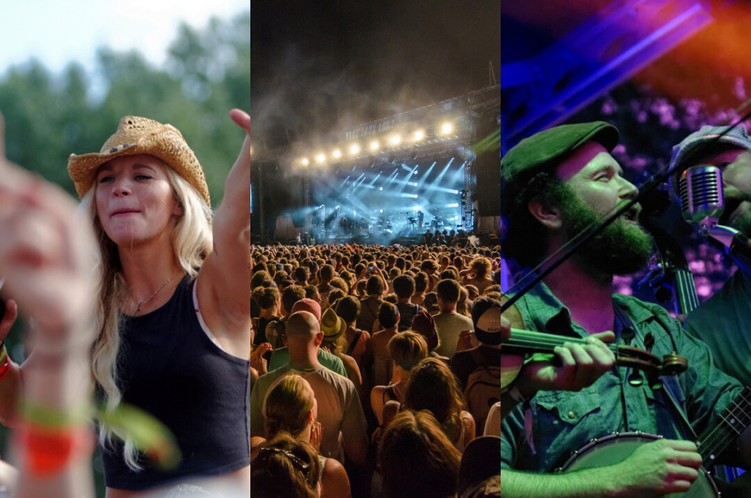 Country JAM, Eaux Claires Music & Arts Festival, and the Blue Ox Music Festival – all of which take place in the Town of Union.