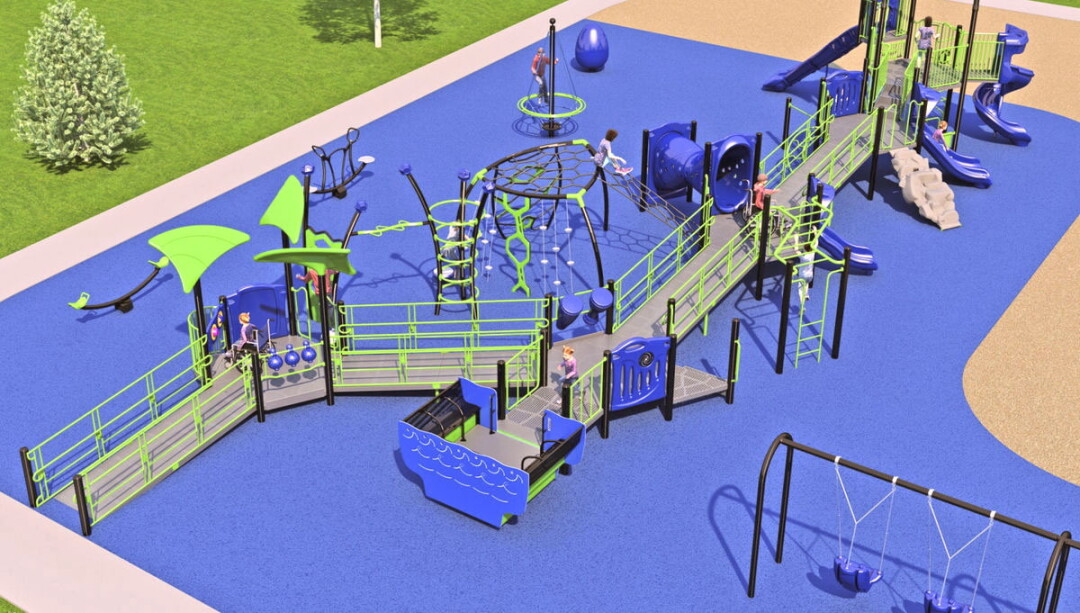 Southview Elementary School playground concept