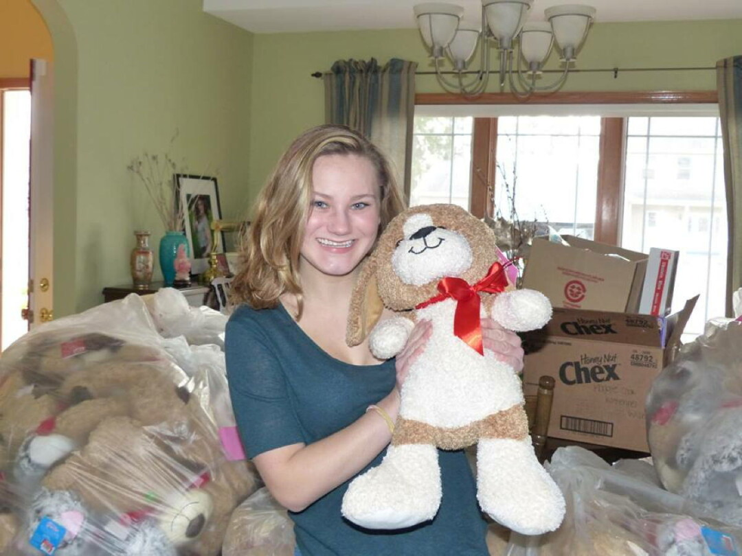 KATHARINE RHOTEN'S CHARITY, KATHARINE'S WISH, HAS COLLECTED THOUSANDS OF TOYS AND MORE THAN $50,000 TO HELP HOSPITALIZED KIDS NATIONWIDE.