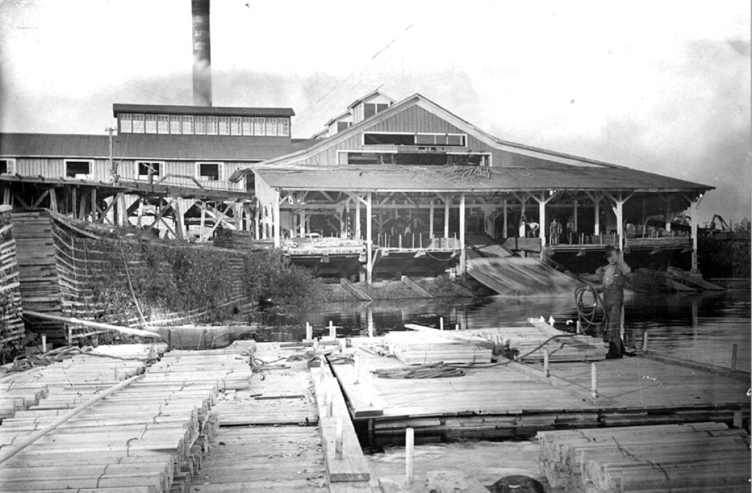 The Daniel Shaw Lumber Co. – the namesake of