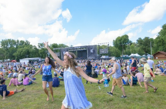 Eaux Claires fans wisp about like dandelion wishes.
