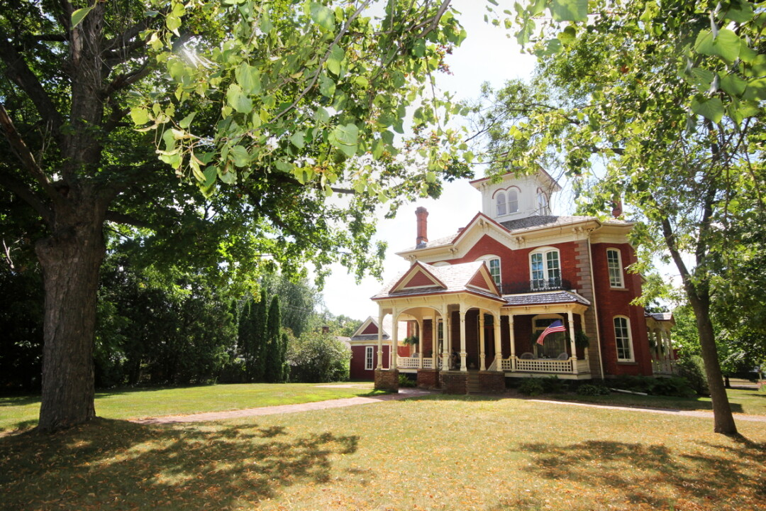 THE COOK-RUTLEDGE MANSION IN chippewa falls offers a GLIMPSE of life in the chippewa valley during the late 19th and early 20th centuries.