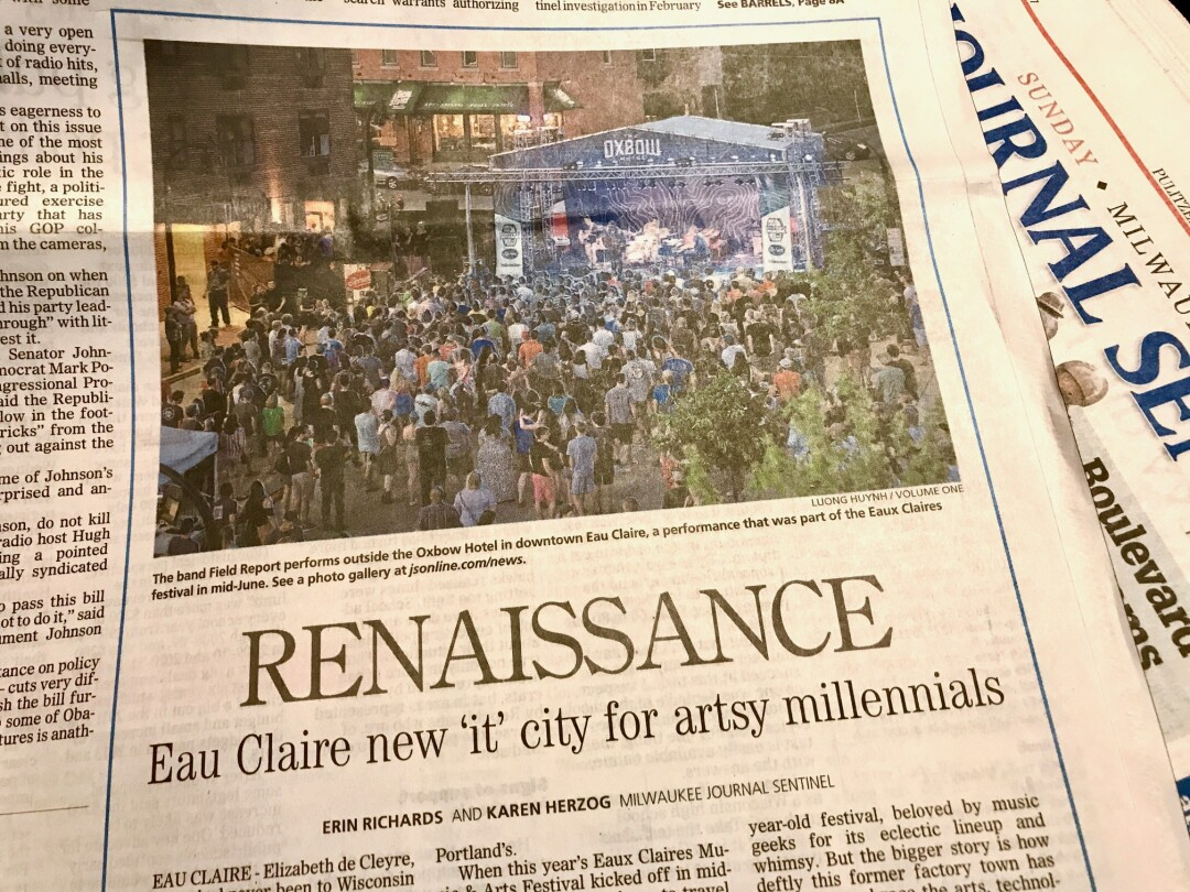 Is Eau Claire The New It City For Artsy Millennials The