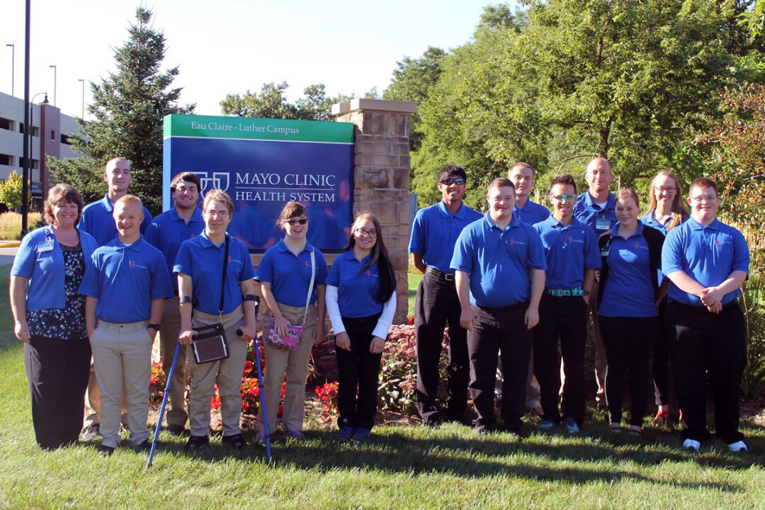 Last year's Project SEARCH interns gained job skills at Mayo Clinic Health System.