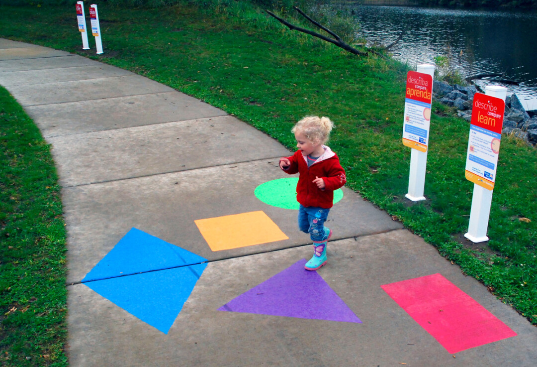 Born Learning Trail at Lakeshore Park, Eau Claire