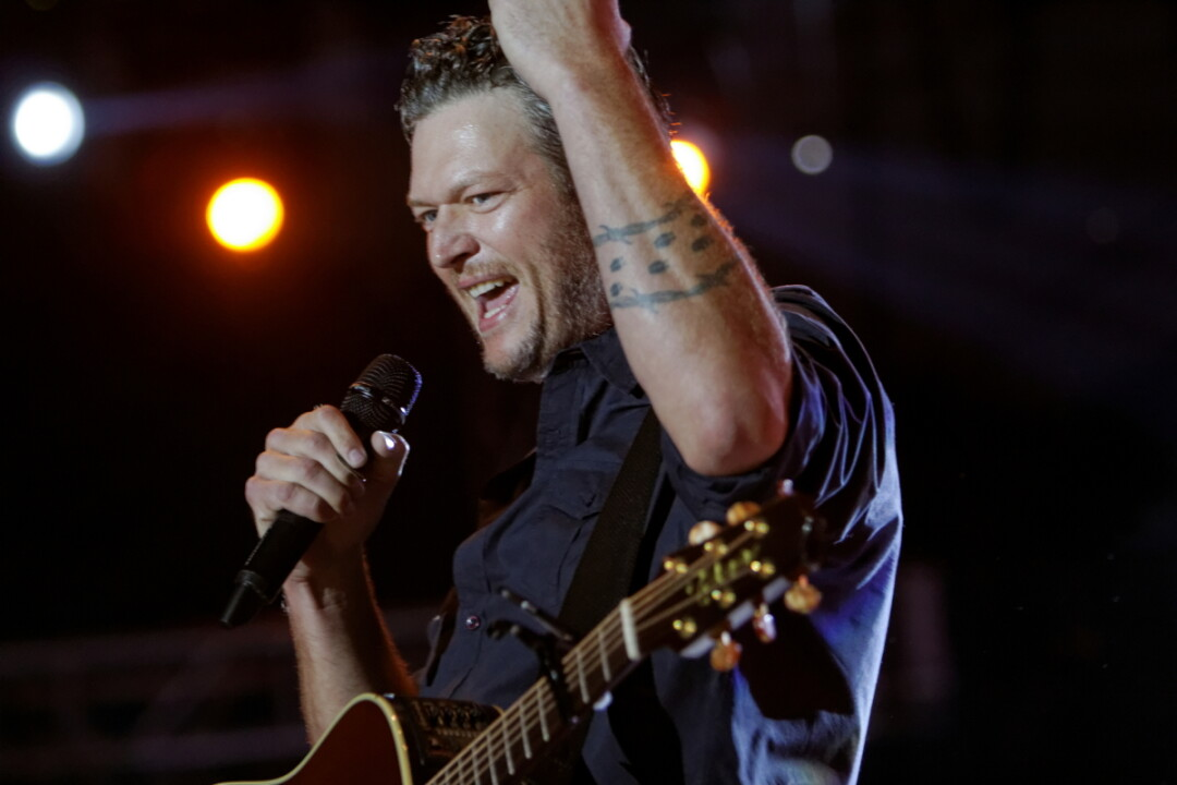 Blake Shelton at Country Jam 2015
