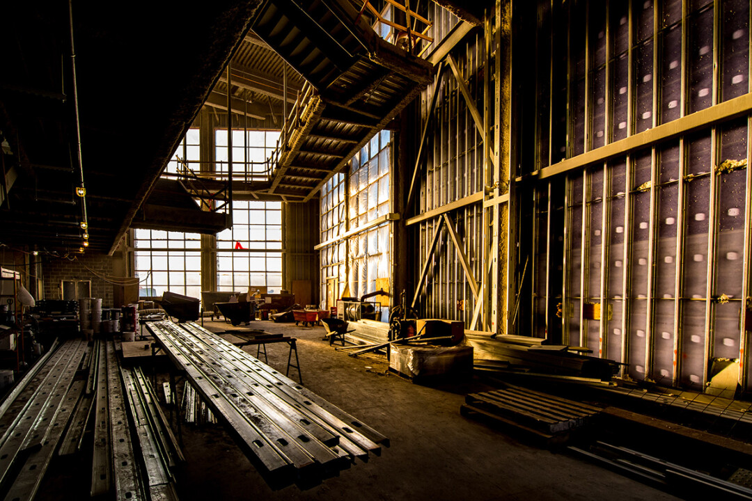 Interior construction on the newly named Pablo Center at the Confluence. Image: Lee Butterworth Photography