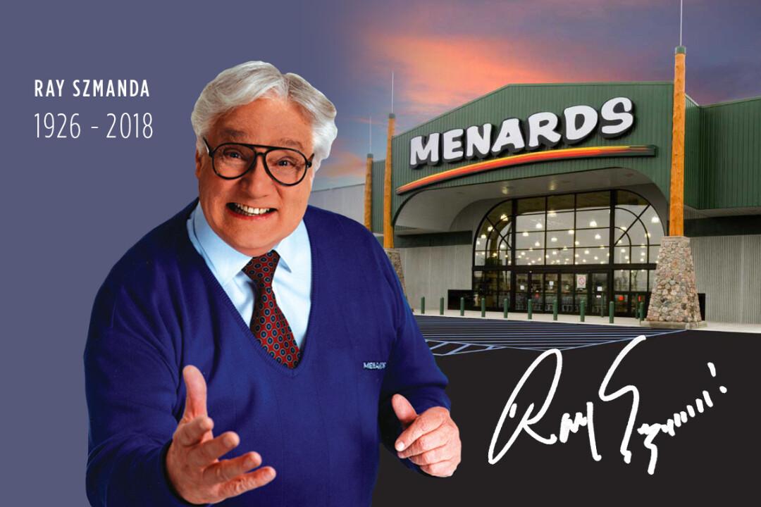 Ray Szmanda, iconic face of Menards, passes away