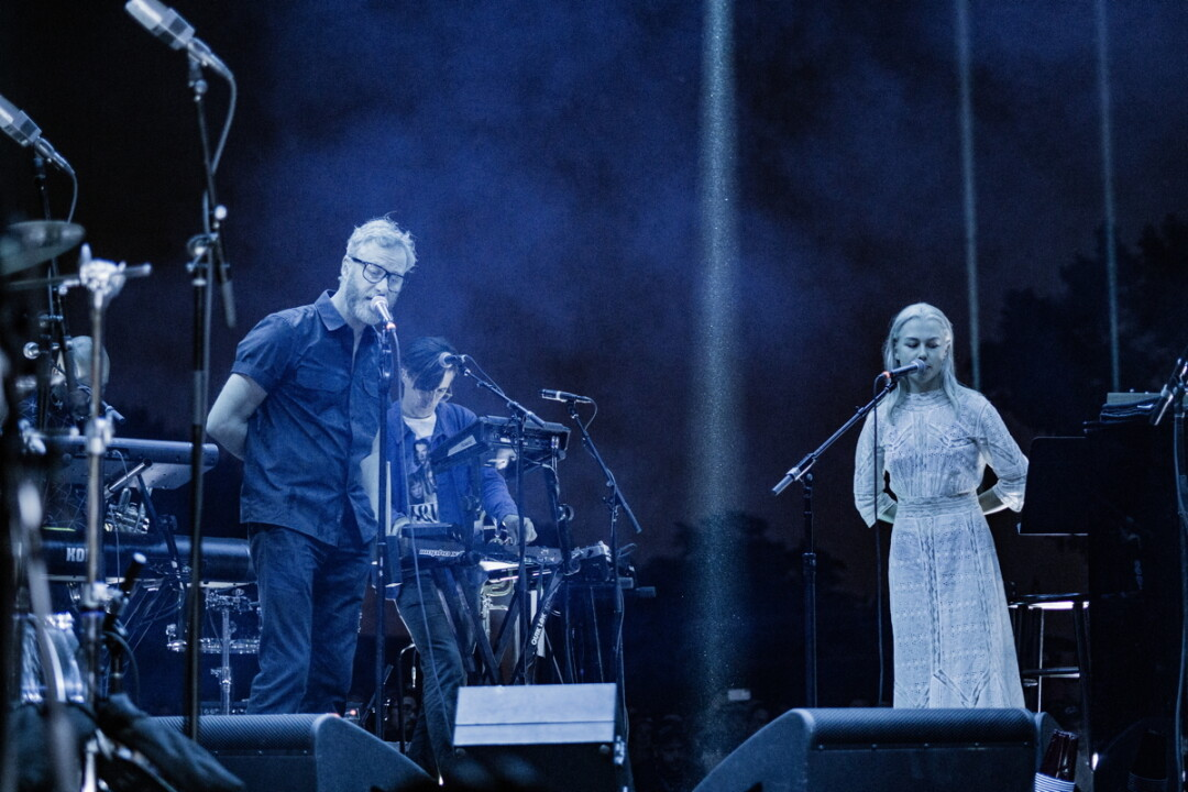 The National with Phoebe Bridgers (Image: Brendan Nall)