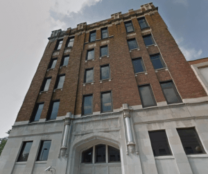 The Grand, 204 E. Grand Ave., will be used will be used by Foxconn to house a laboratory for technological solutions.