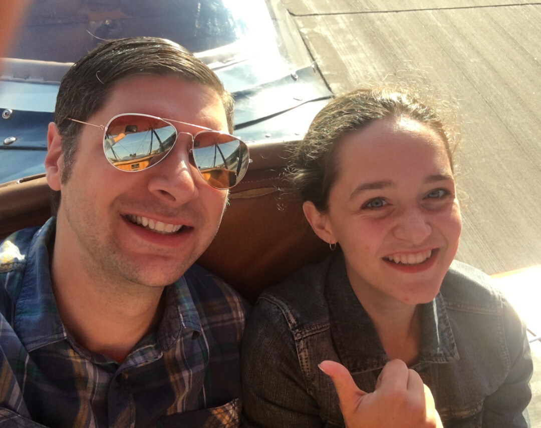 V1 staffers Neil Hodorowski and Lauren Fisher