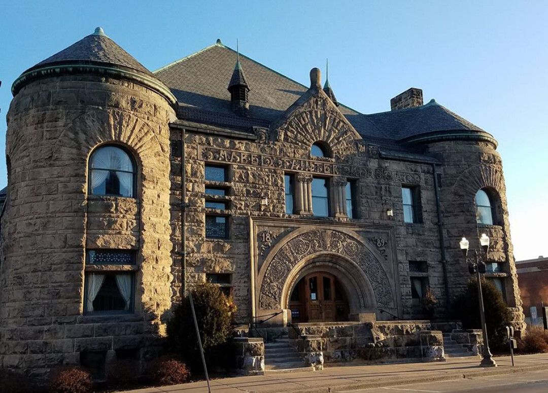 Menomonie's Mabel Tainter Center for the Arts (Image)