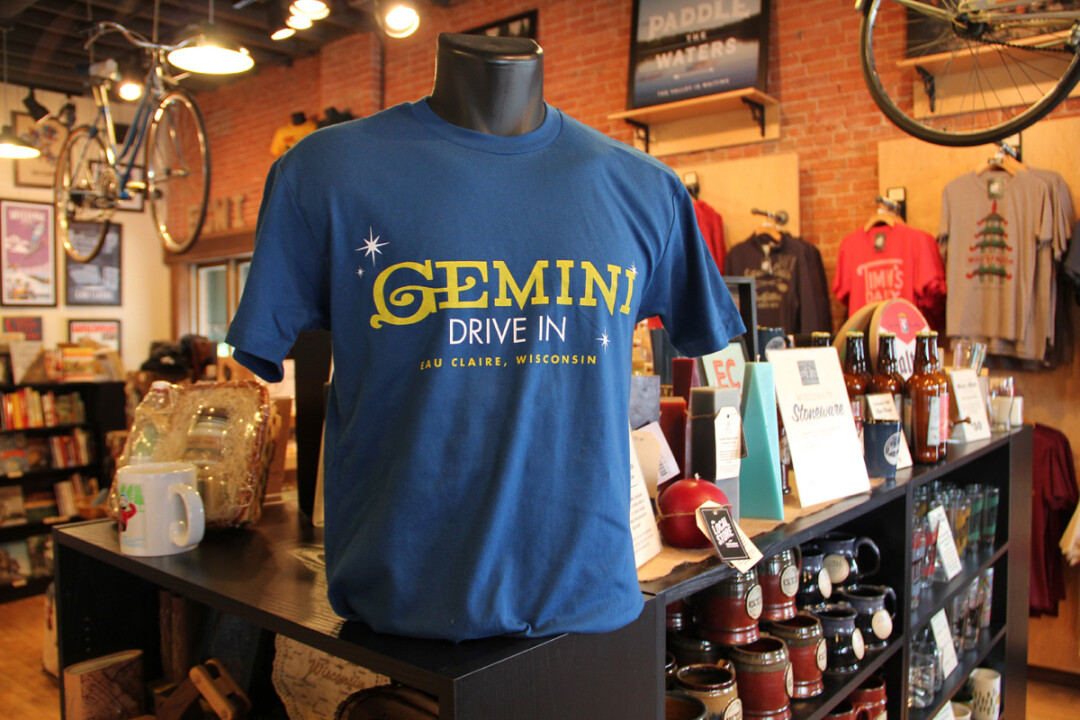 Above: The legendary Gemini Drive In Local Legends tee.