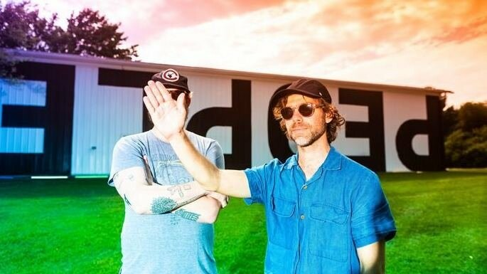 Justin Vernon and Aaron Dessner.