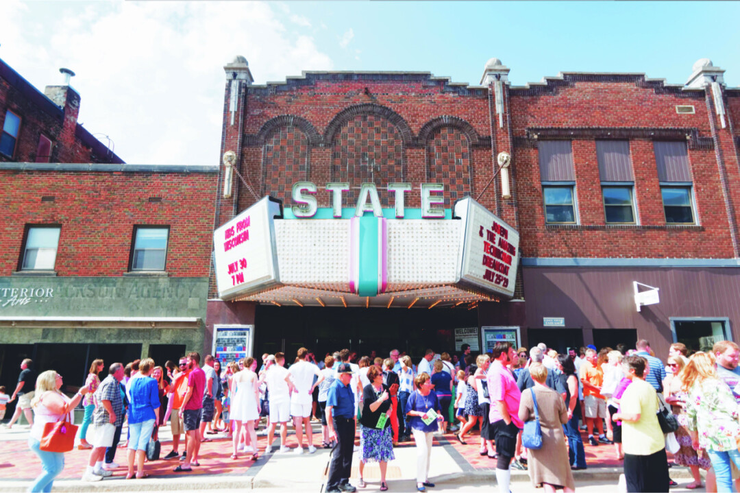 State Theatre, downtown Eau Claire