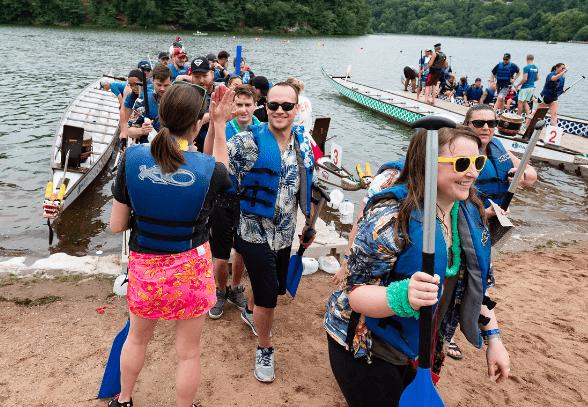 Return of the Dragons: Annual Half Moon Dragon Boat Festival