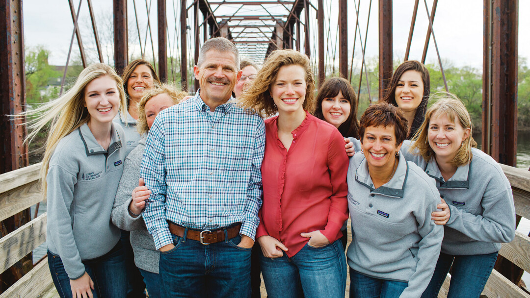 The passionate team at Cedar Orthodontic Specialists.