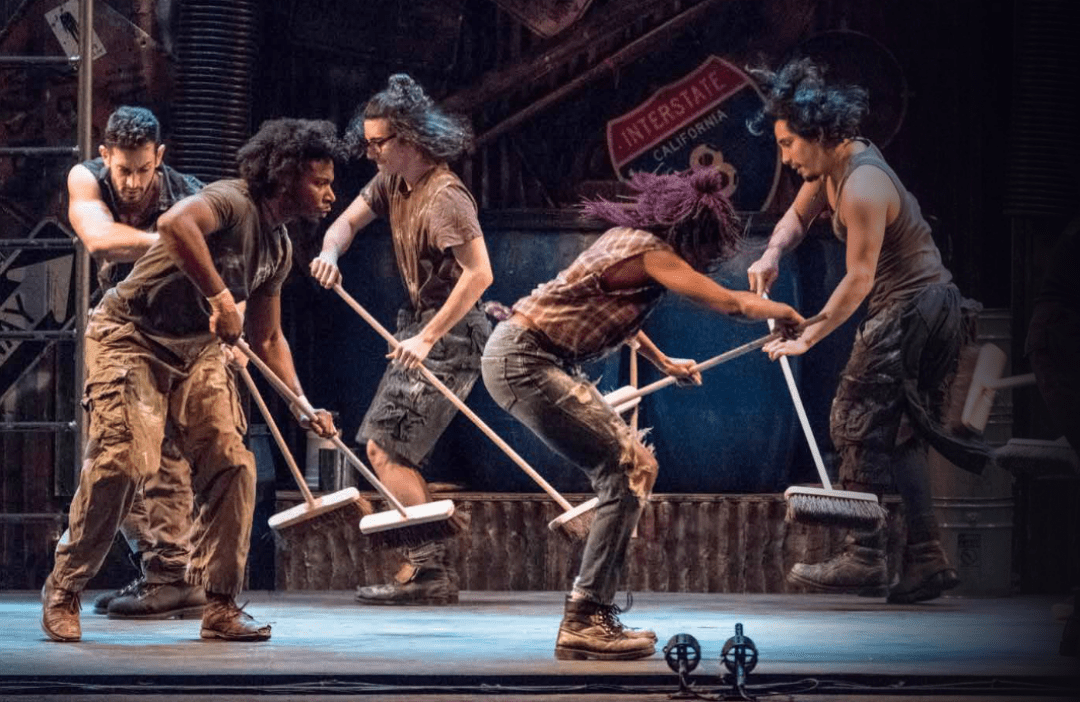 International percussion sensation STOMP comes to the RCU Theatre in March 2020.